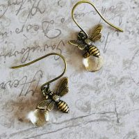 Handmade Gemstone Honeybee Jewellery